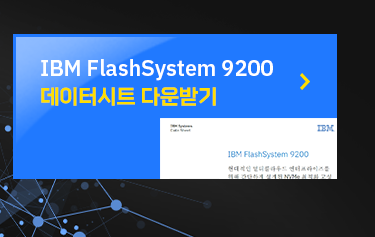 IBM FlashSystem 9200 데이터시트 다운받기