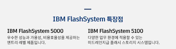 IBM FlashSystem 특장점