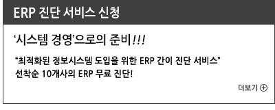 ERP 진단 서비스 신청