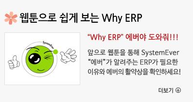 웹툰으로 쉽게 보는 Why ERP